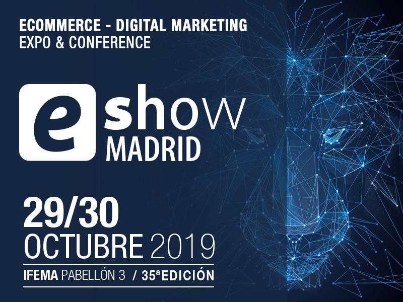 Poster eshow Madrid 2019